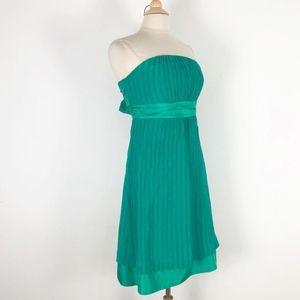 Moulinette Soeurs for Anthropologie Green Dress 10